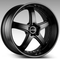 Korrupt - Satin Black 18x8