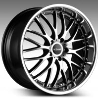 Mallice - Machined Black 19x8.5
