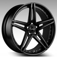 Shadow - Satin Black 20x8.5